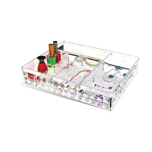 Cosmetic Diamond Stackable In-Drawer Organiser