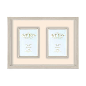 Hereford Silver Photo Frame 2 Windows