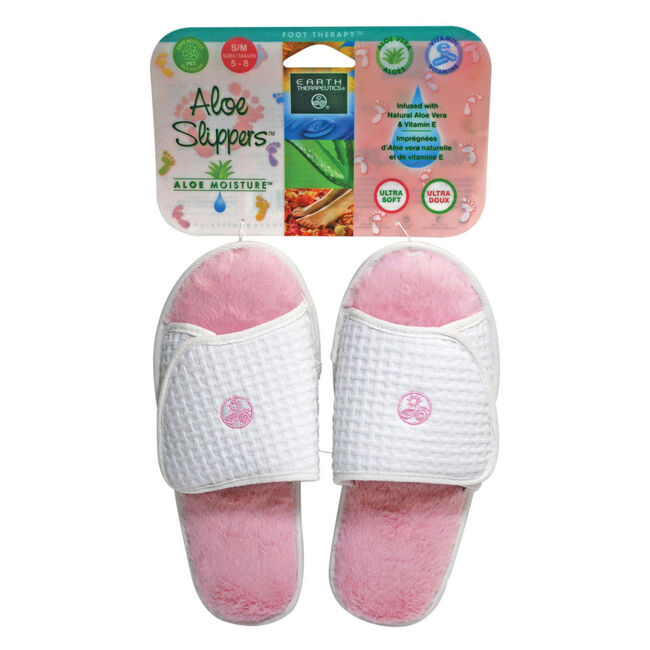 Aloe Slippers Pink S/M