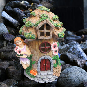 Fairy House with Solar Light
