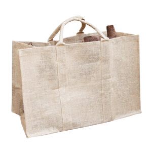 Silverframe Jute Log Bag