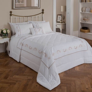 Scanlon Gold Bedspread 220cm x 230cm