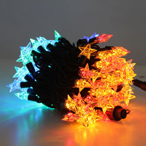 100 Multicolour Connectable Star Lights