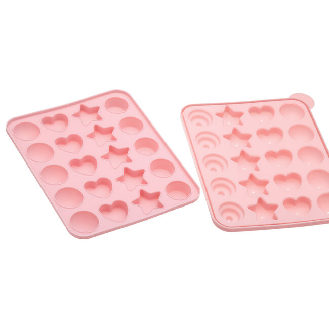 Sweetly Does it Cake Pop Mold Shapes