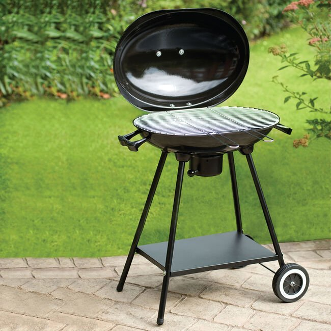 Oval Kettle BBQ