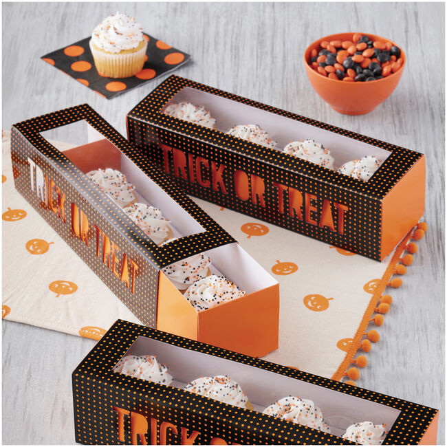 Wilton Halloween Trick-or-Treat Cupcake Box