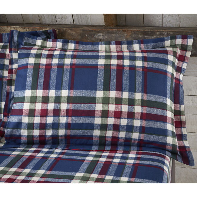 Brushed Cotton Patchwork Check Oxford Pillowcases
