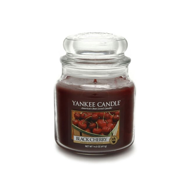 Yankee Candle Black Cherry Medium Jar