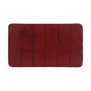 Memory Foam Bath Mat Red 40cm x 60cm