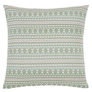 Summer Geo Green Cushion 58cm x 58cm