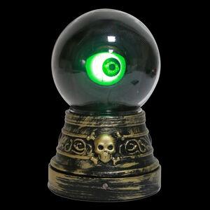 Halloween Animated Eyeball Globe