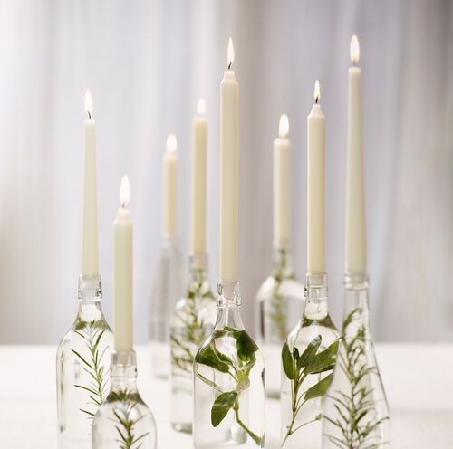 Bolsius Ivory Taper Candles 10 Pack