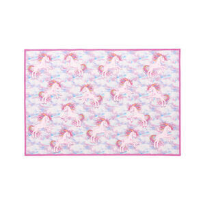 Unicorn Dreams Childrens Floor Mat 80 x 120cm