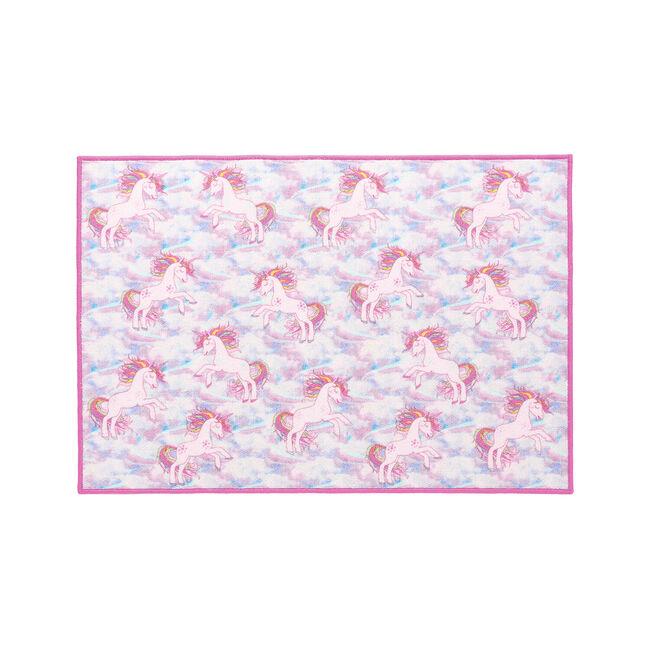 Unicorn Dreams Childrens Floor Mat 80 x 120cm