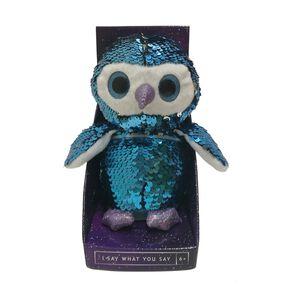 Talking Glitter Owl