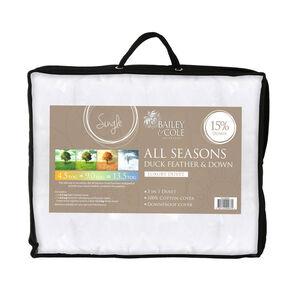 Duck All Seasons Duvet Single