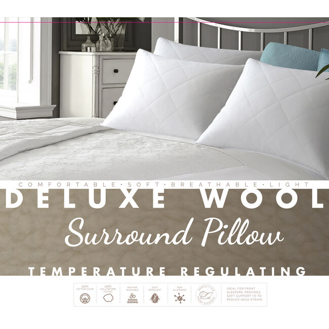 Deluxe Wool Surround Pillow