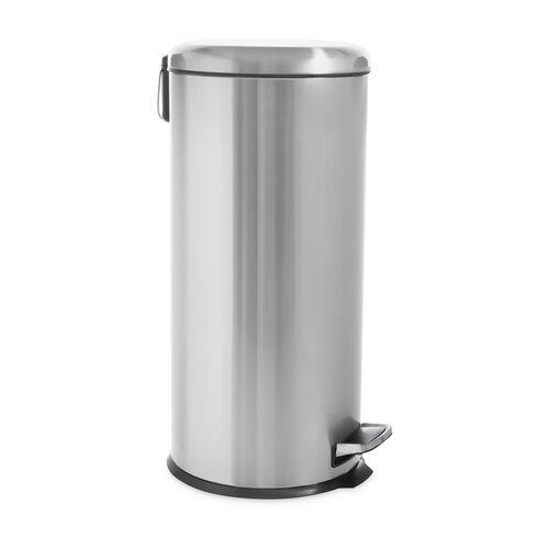 Forma Pedal Bin 30L - Brushed Stainless Steel