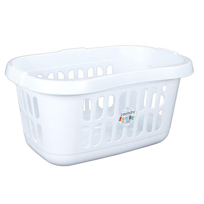 Casa Hipster Laundry Basket Ice White