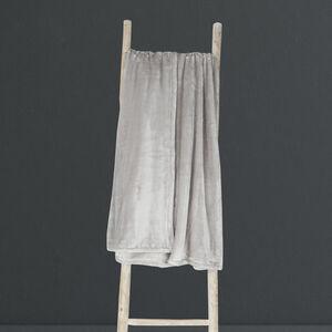 Ruane Plush Velvet Throw 150 x 200cm - Dove Grey