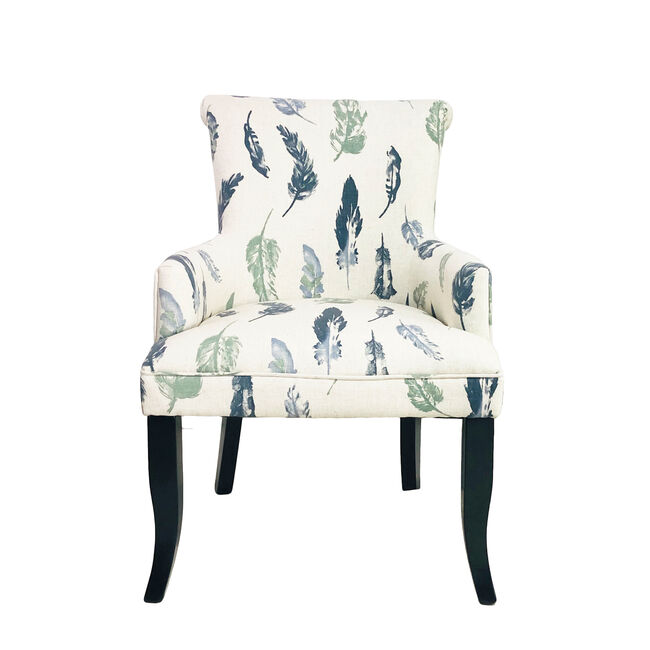 Feather Motif Armchair