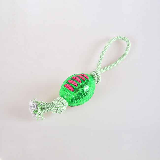TPR Chew Toy With Rope