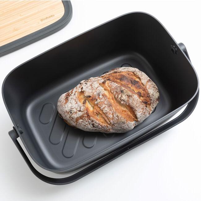 Brabantia Bread Bin - Dark Grey