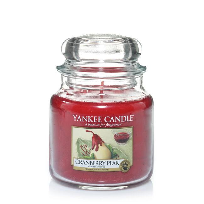 Yankee Candle Cranberry Pear Medium Jar