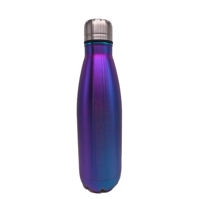 BodyGo Metallic Capsule Bottle 480ml - Blue