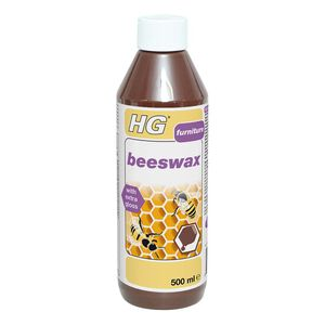 HG Brown Beeswax Polish 500ml