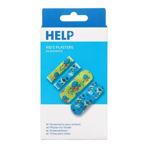 Help 40 Kids Plasters Assorted