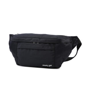 BodyGo Black Large Bumbag
