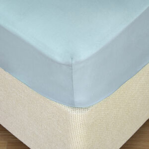 SINGLE FITTED SHEET 200 Threadcount Cotton D/Egg