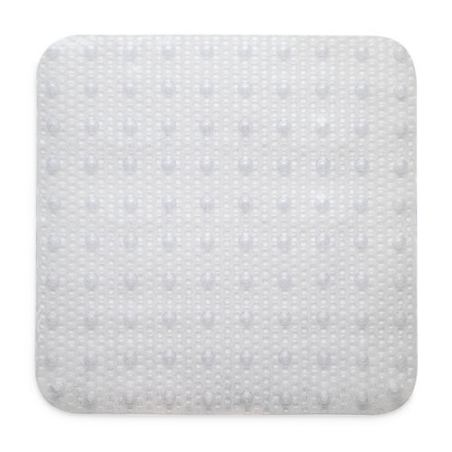 Sparkle Shower Mat 53x53cm - Silver