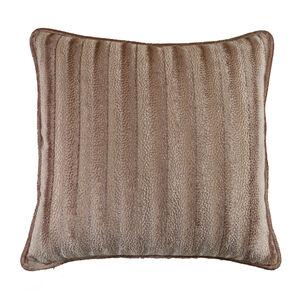 Velvet Embossed Cushion 45x45cm - Coffee
