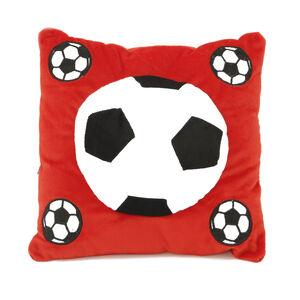 Football Cushion Red 40cm x 40cm