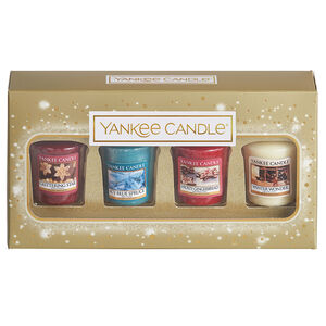 Yankee Christmas 4 Votive Gift Set
