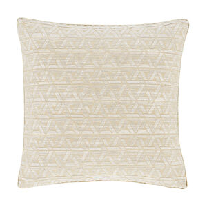 Triangles Cushion Natural 45cm x 45cm