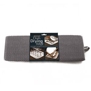 Dish Drying Mat Grey