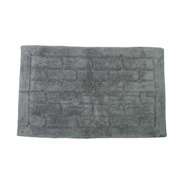Cotton Brick Steel Bath Mat 50cm x 80cm