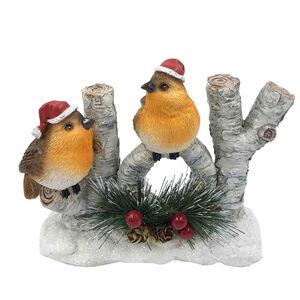 Christmas Robins Joy