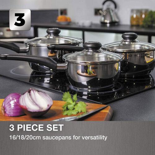 Morphy Richards 3 Piece Cookware Set