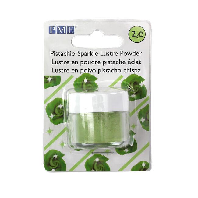 PME Pistachio Sparkle Lustre Powder 2g