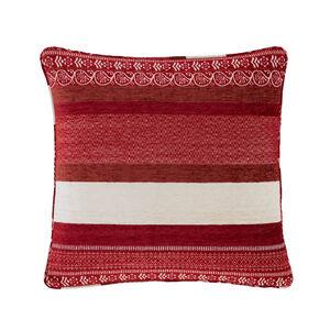 Isla Geo Red Cushion 45cm x 45cm