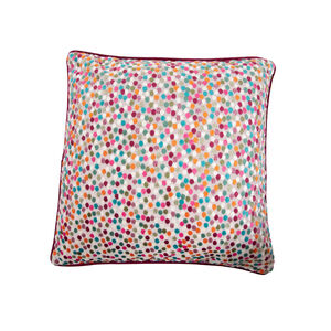 Sophie Spot Cushion 45 x 45cm - Green