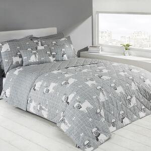 Pugtastic Bedspread