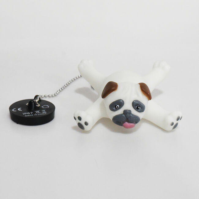 Colour Changing Puppy Bath Plug