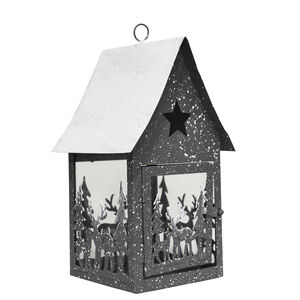 Large Snow Covered Christmas Lantern