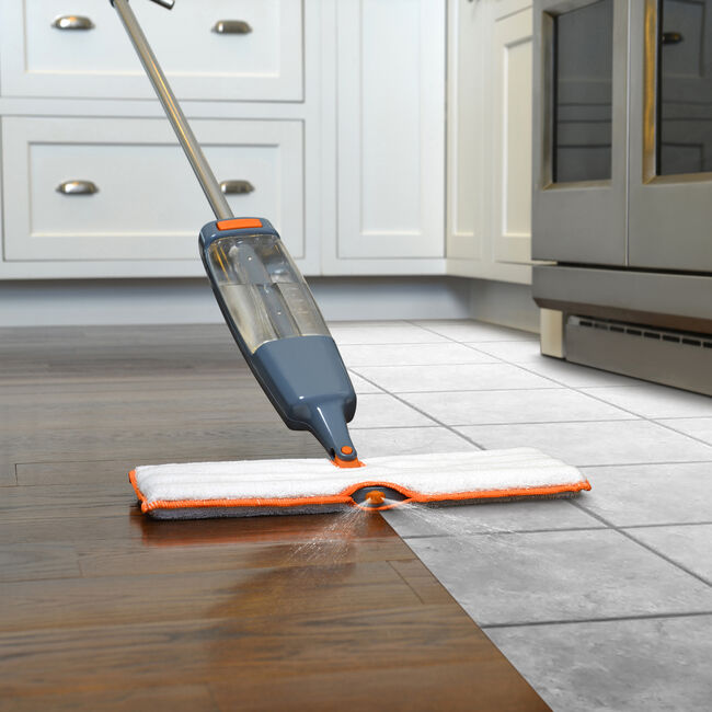 XL Quick Scrub Spray Mop