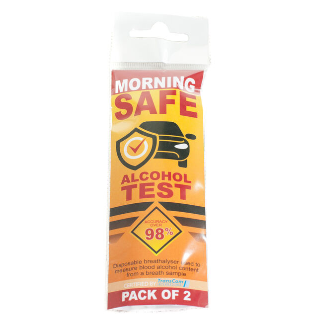 Morning Safe Test & Drive Breath Analysers 2 Piece